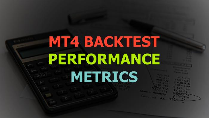 MT4 Backtest Report Performance Metrics