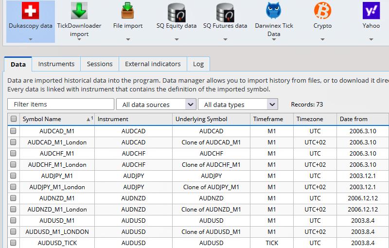 software - Data